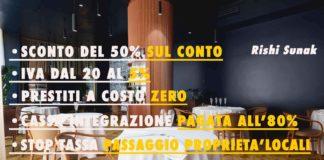 misure fiscali per i ristoranti