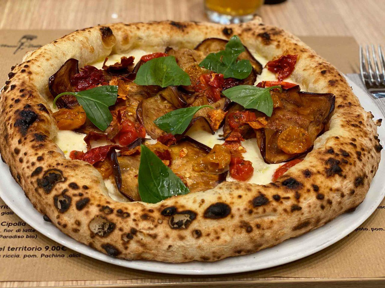 Pizza napoletana in Sicilia
