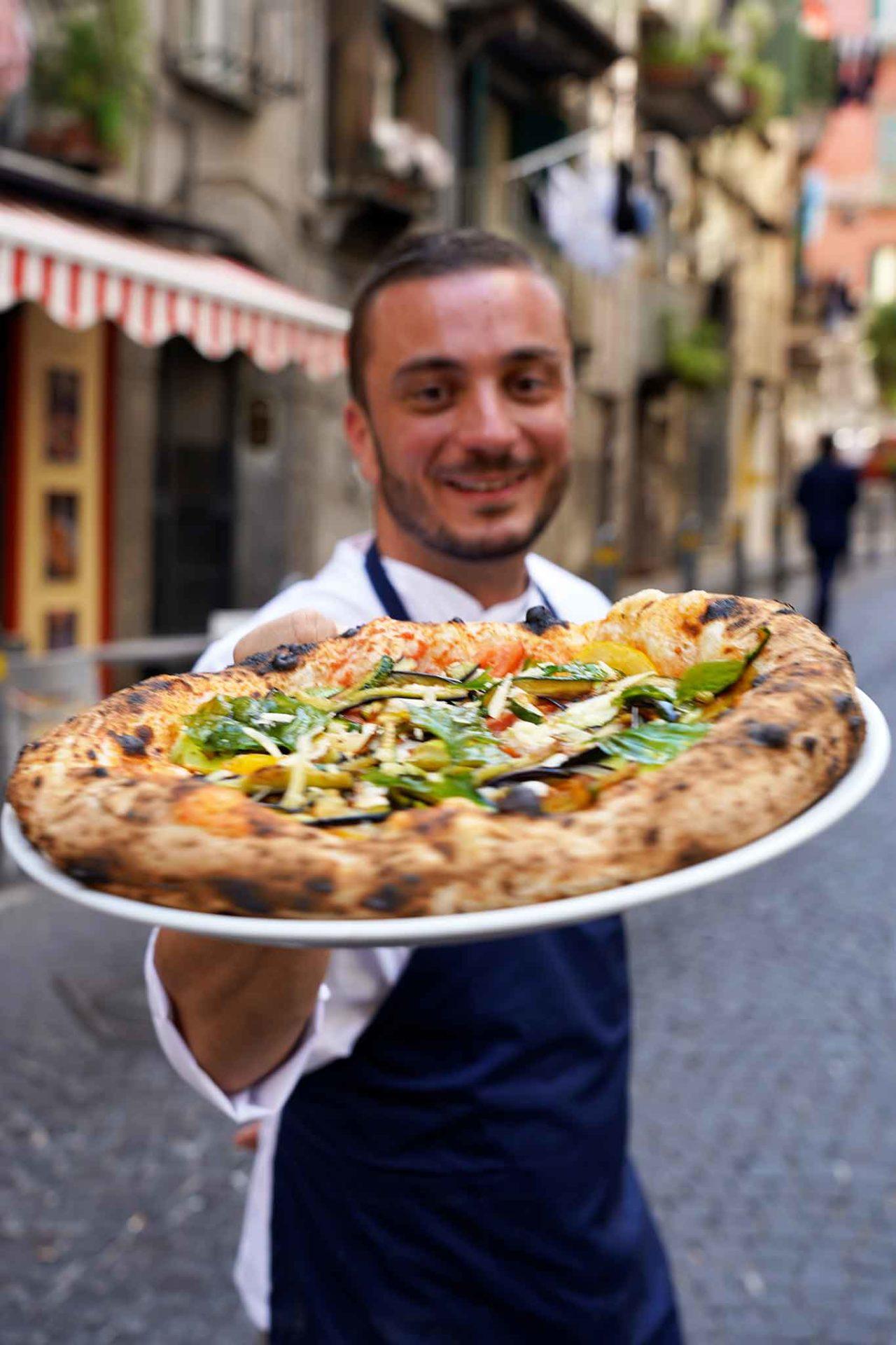 pizza Quartier Latin Peppe Cutraro