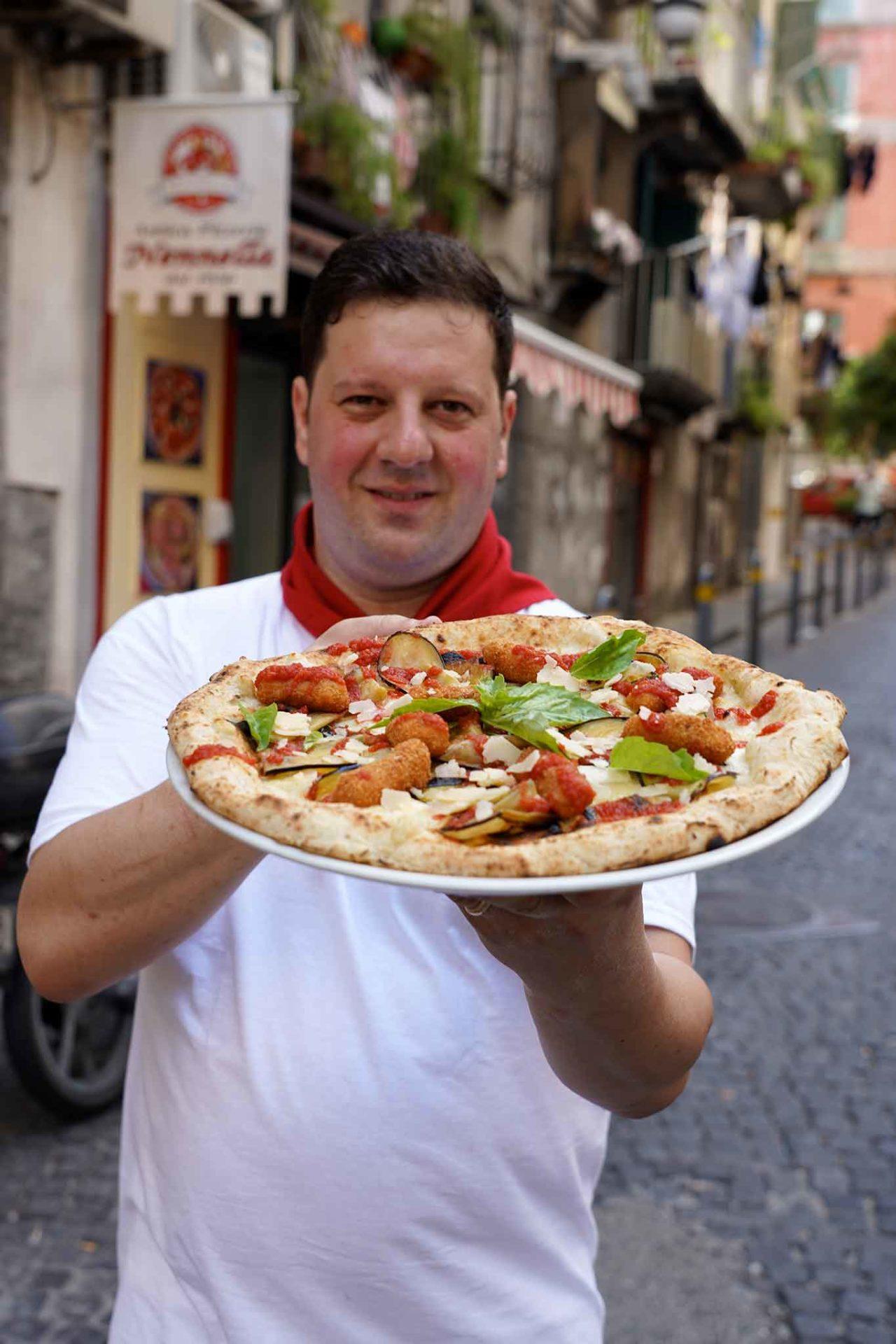 pizza Quartieri Spagnoli Pasquale Nennella