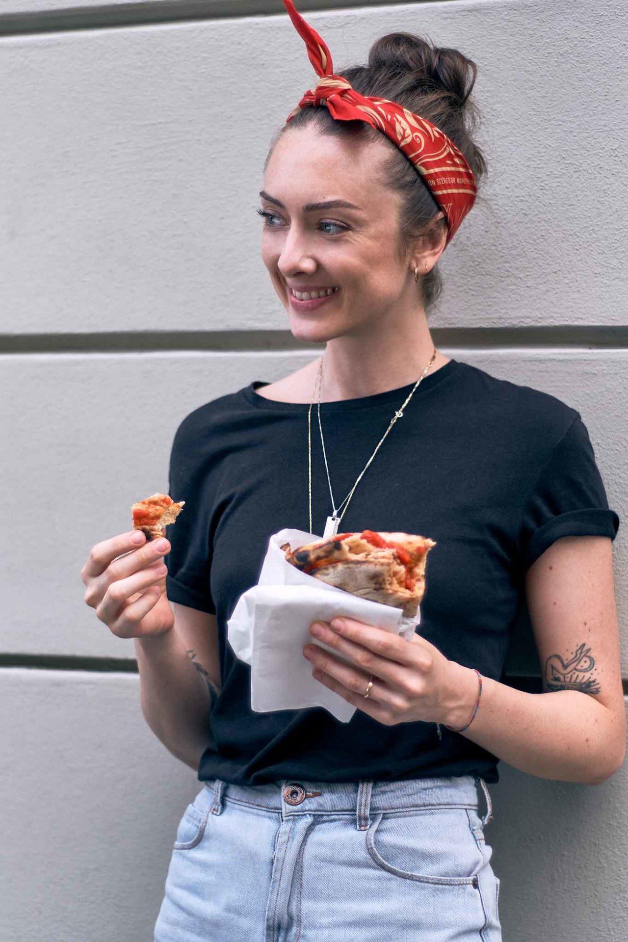 pizza a portafoglio Milano