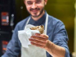 pizza a portafoglio Simone Lombardi