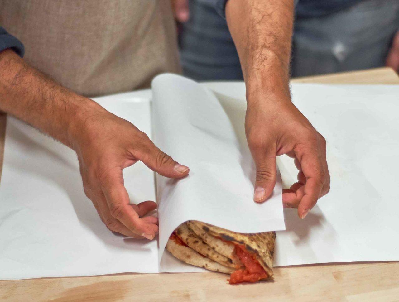 pizza portafoglio incarto crosta lab simone lombardi