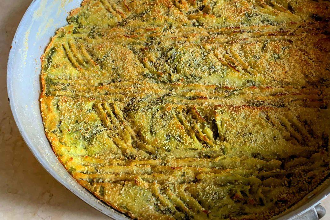 polpettone fagiolini e patate ricetta