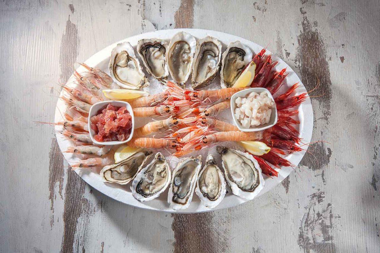 ristoranti di mare con specialità crudo