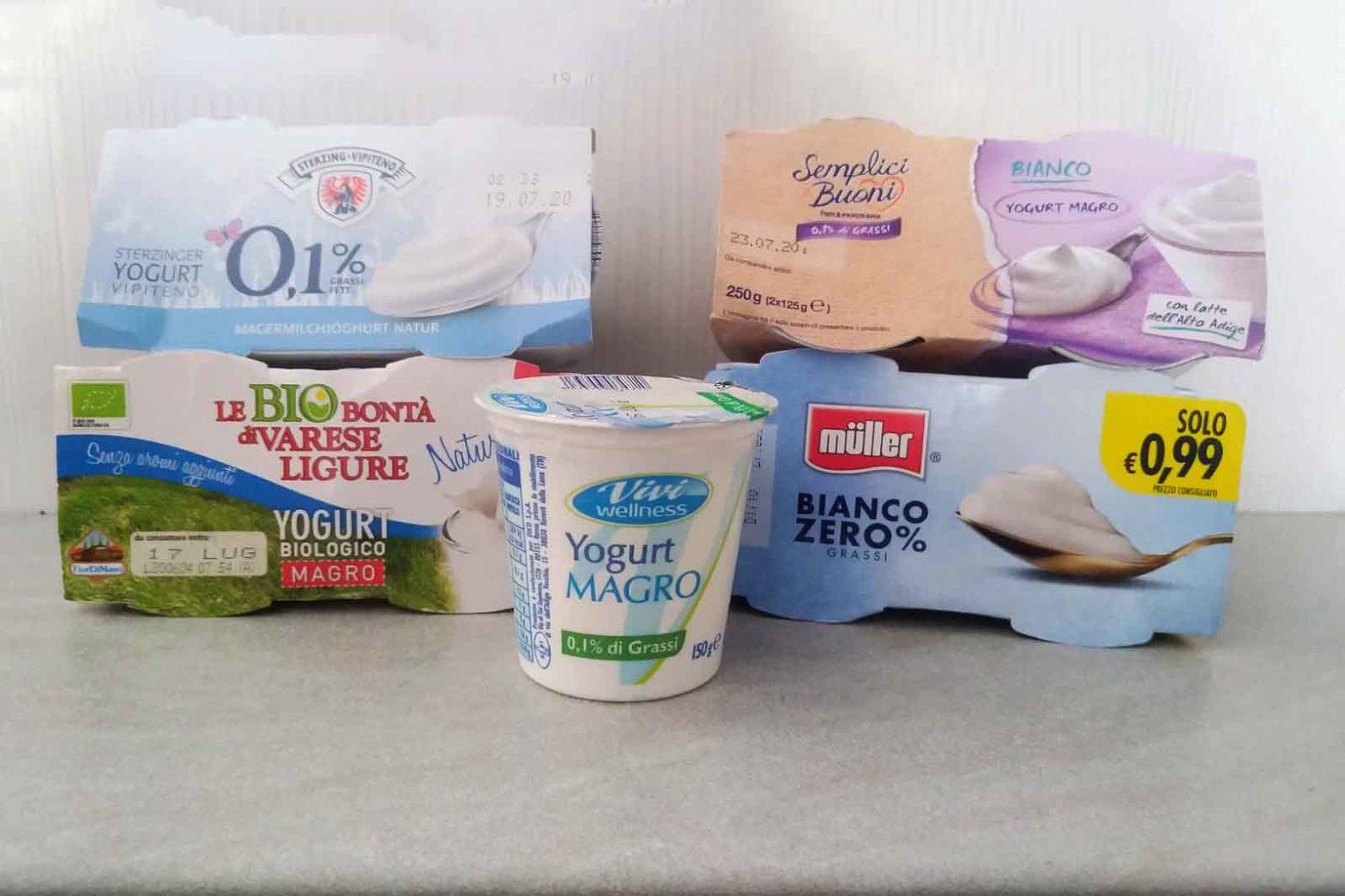 yogurt magro prova assaggio