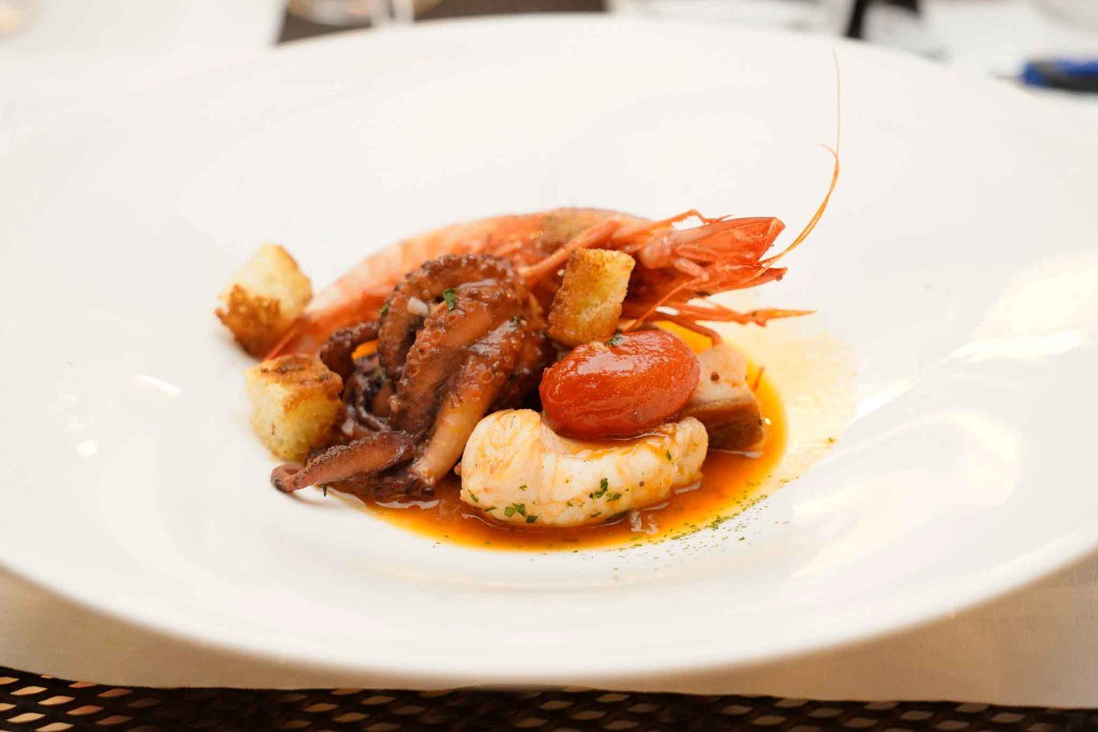 zuppa di pesce Locanda Le Tre Sorelle Casal Velino