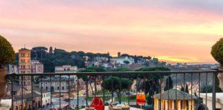 47 circus roma roof garden aperitivo