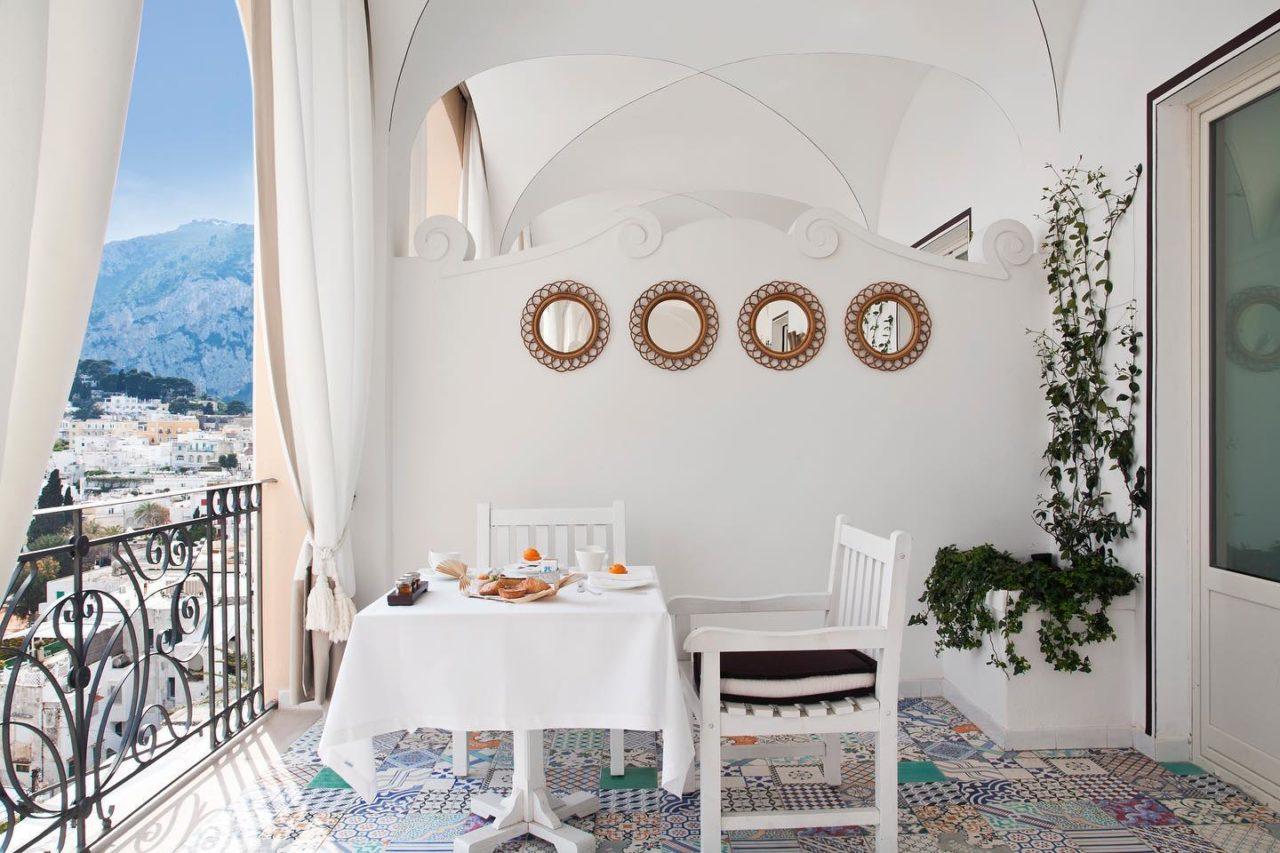 Capri Tiberio Palace Terrazza camere