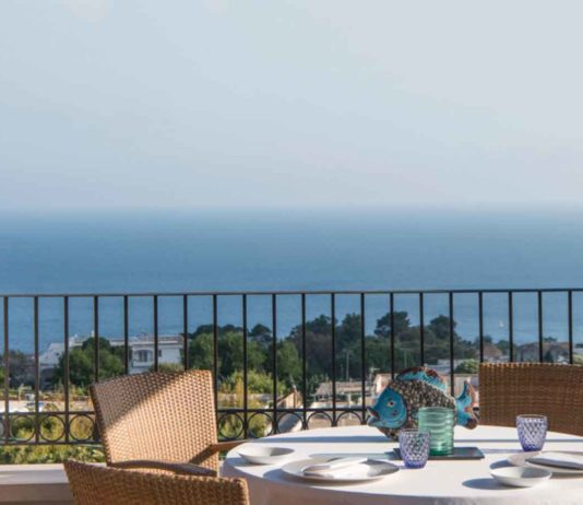 Capri Tiberio Palace Terrazza ristorante