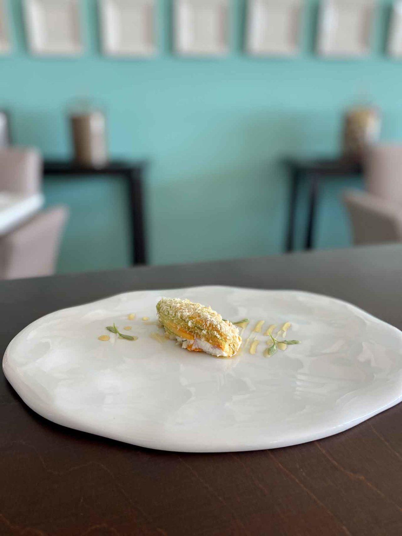 Capri Tiberio Palace Terrazza ristorante fiore di zucca