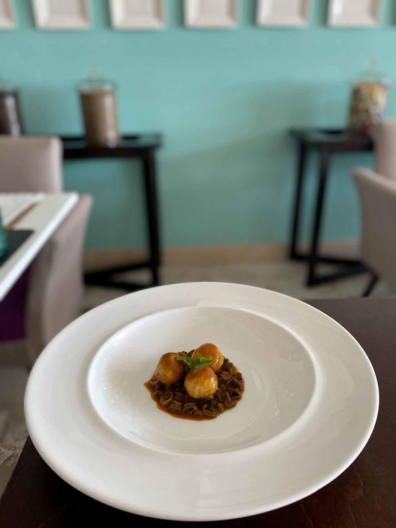 Capri Tiberio Palace Terrazza ristorante gnocchi