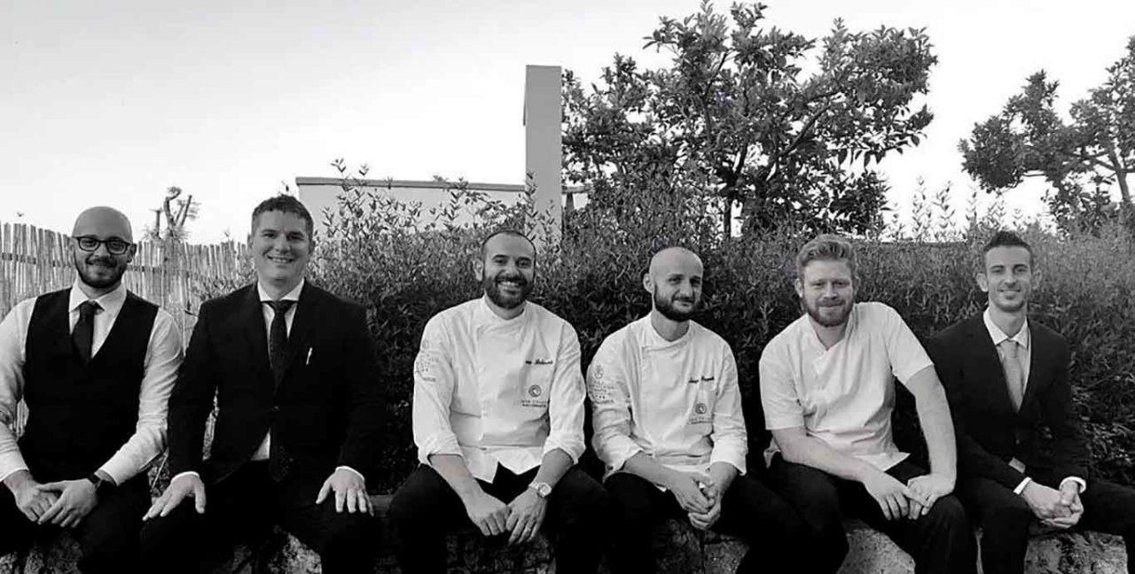 Casa Coloni ristorante Paestum staff