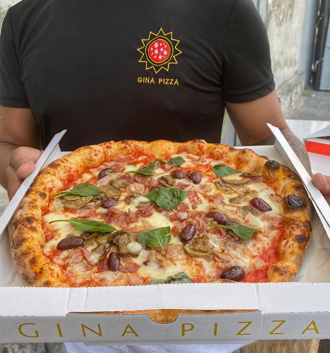 Gina Pizza capricciosa asporto Peppe Pignalosa