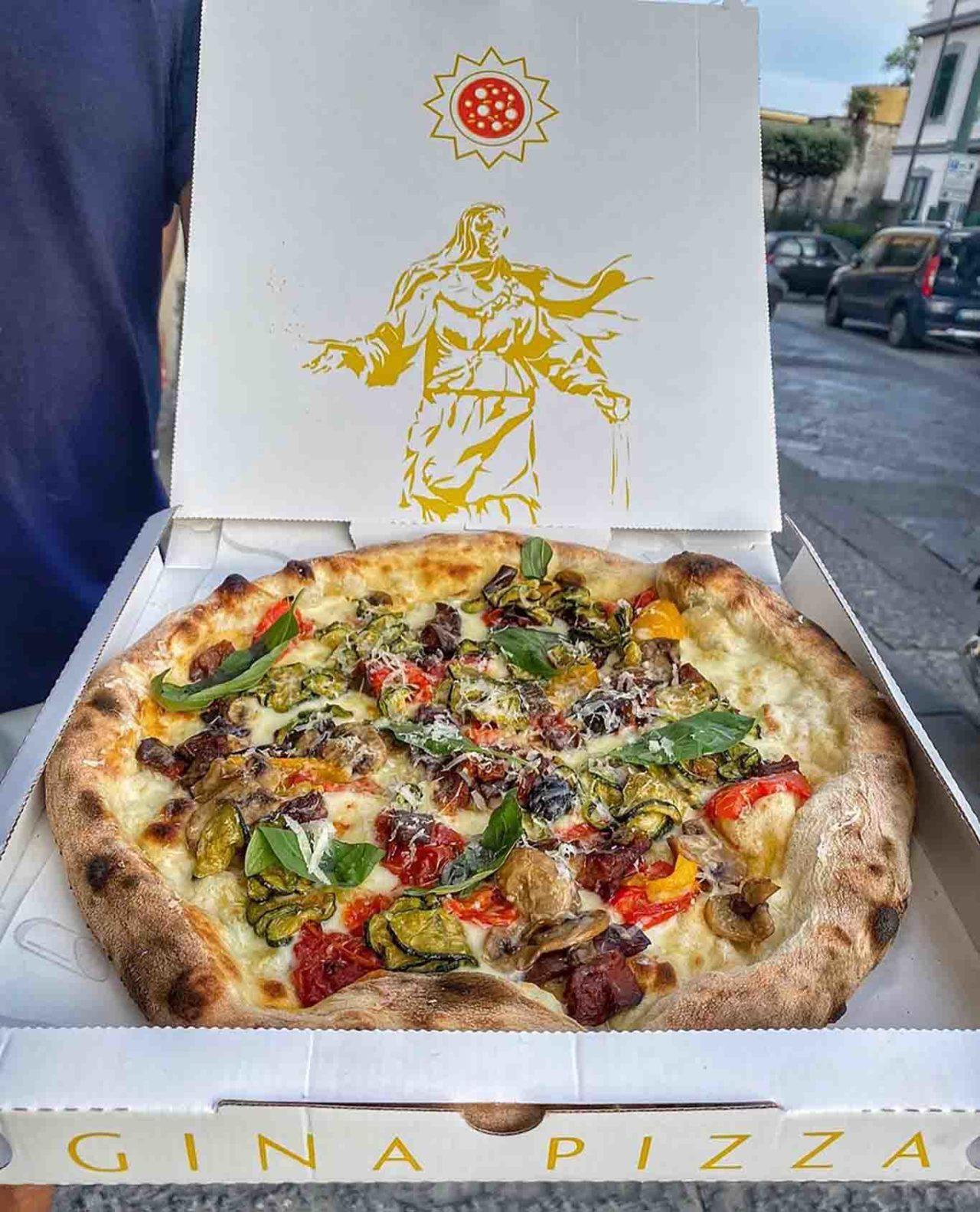 Gina Pizza ortolana Giuseppe Pignalosa