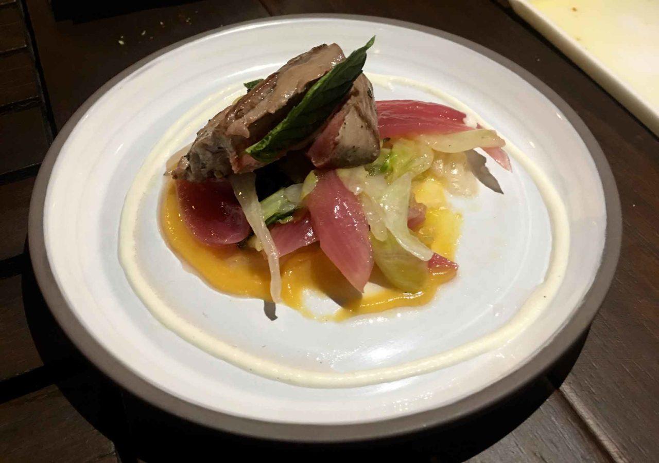 Kisté easy gourmet Taormina filetto di pesce con il cipollotto