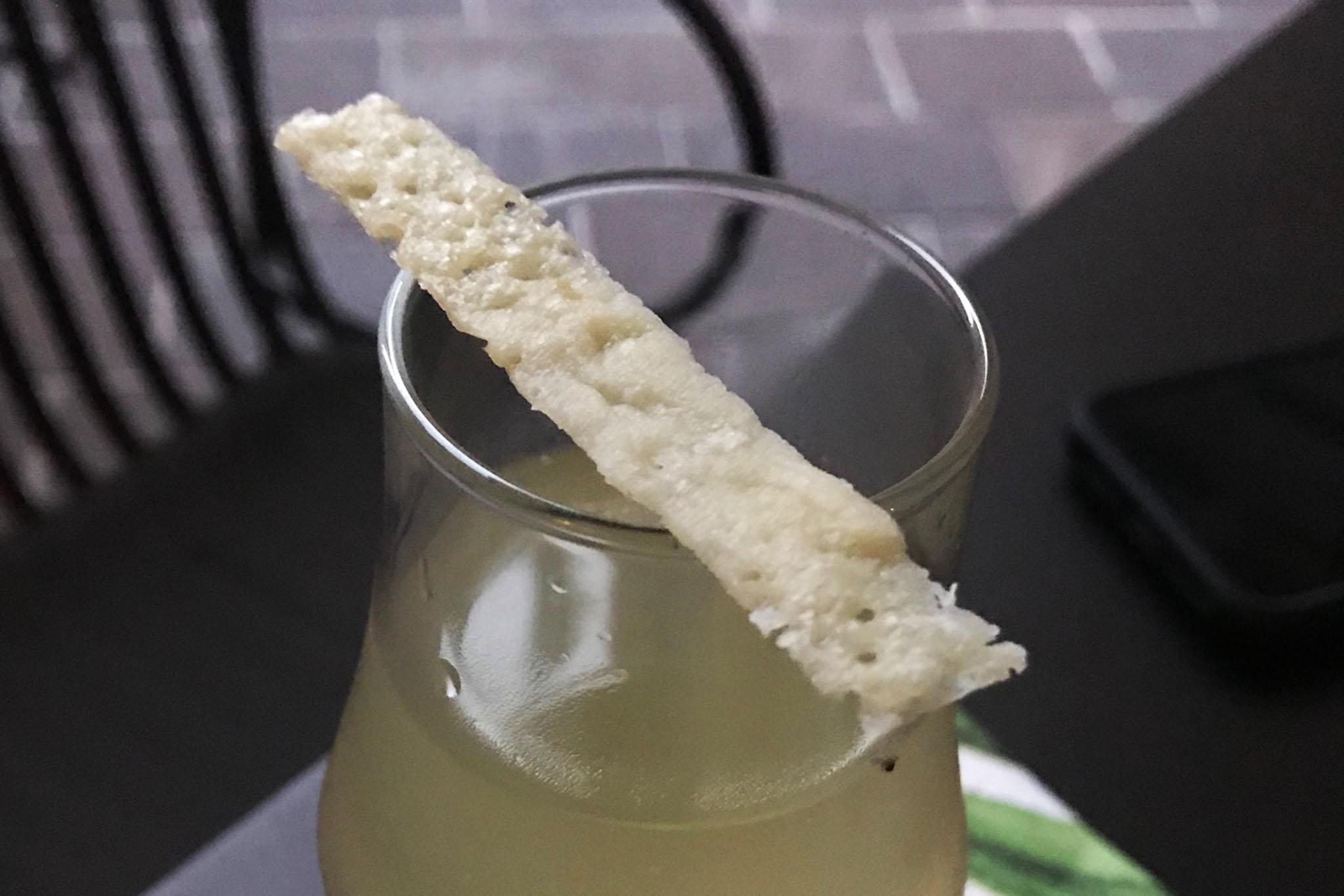 cocktail martini Cacio & Pepe