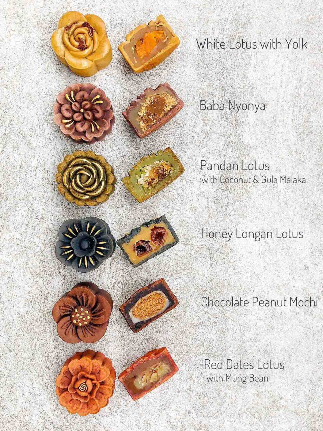 Sarawak Kitchen Confidante 2020 Yue Bing Collection