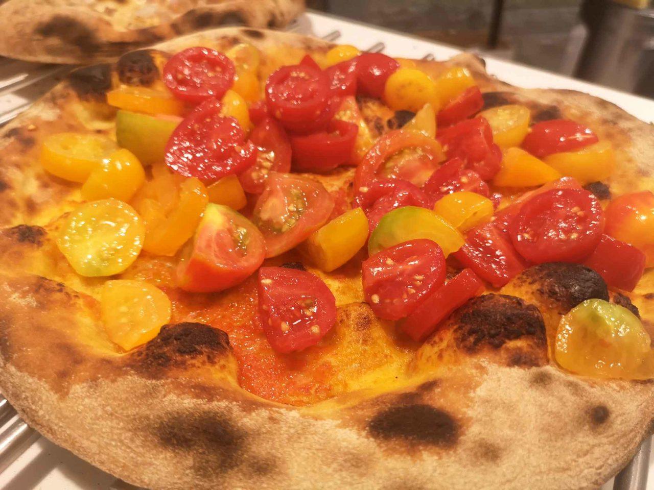 la pizza Capri a Martina Franca