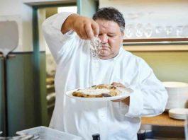 Stefano Callegari pizza cacio e pepe