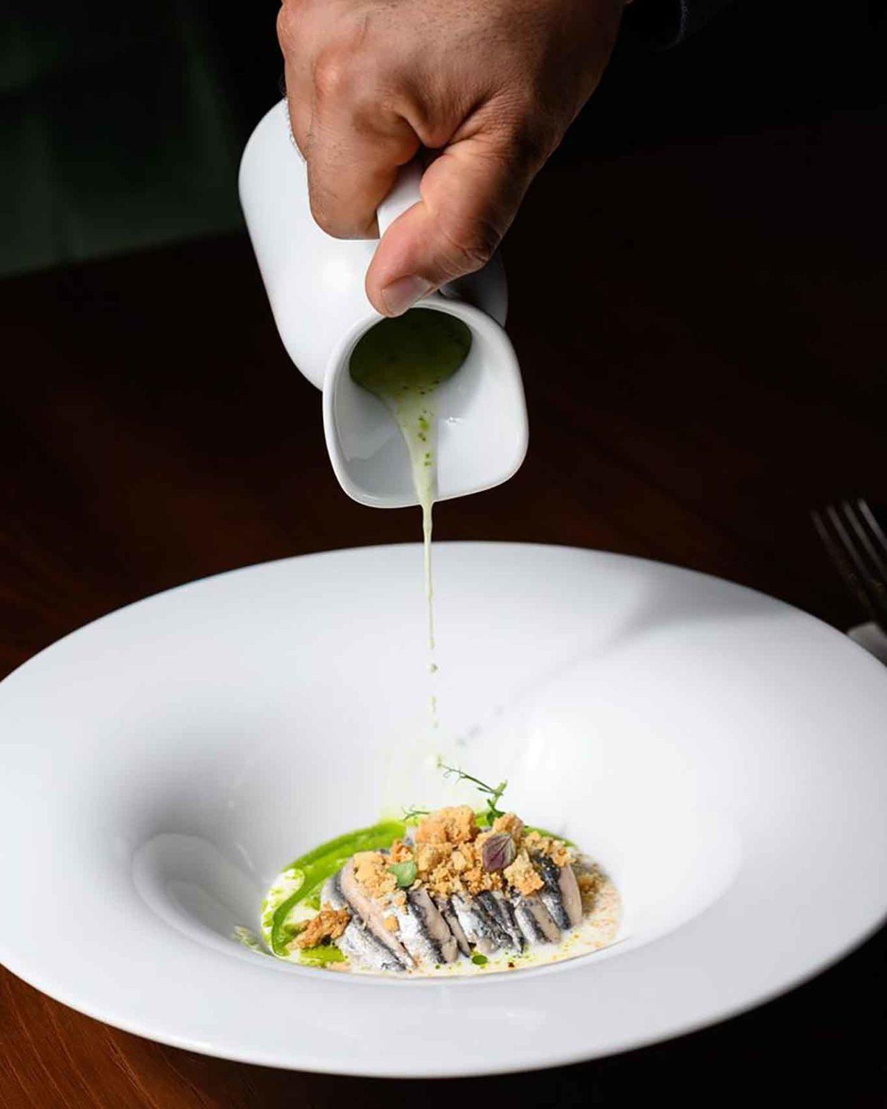 Suscettibile ristorante cilentano Salerno caprese alici