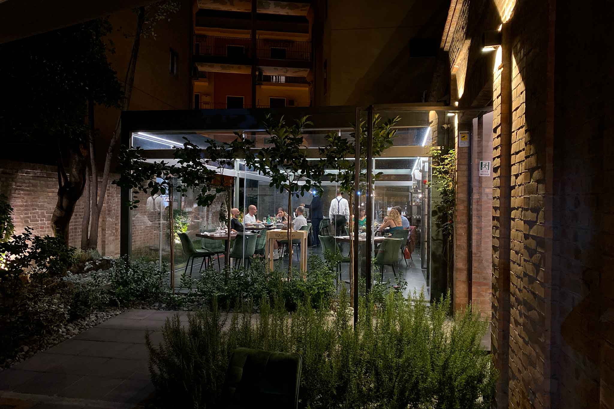 Suscettibile ristorante cilentano a Salerno