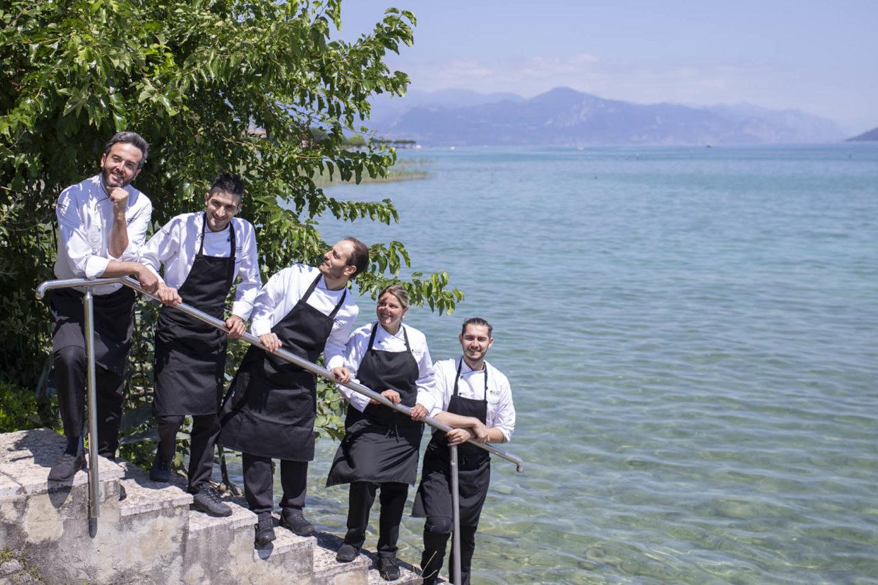 Lago di Garda ristorante Tancredi staff
