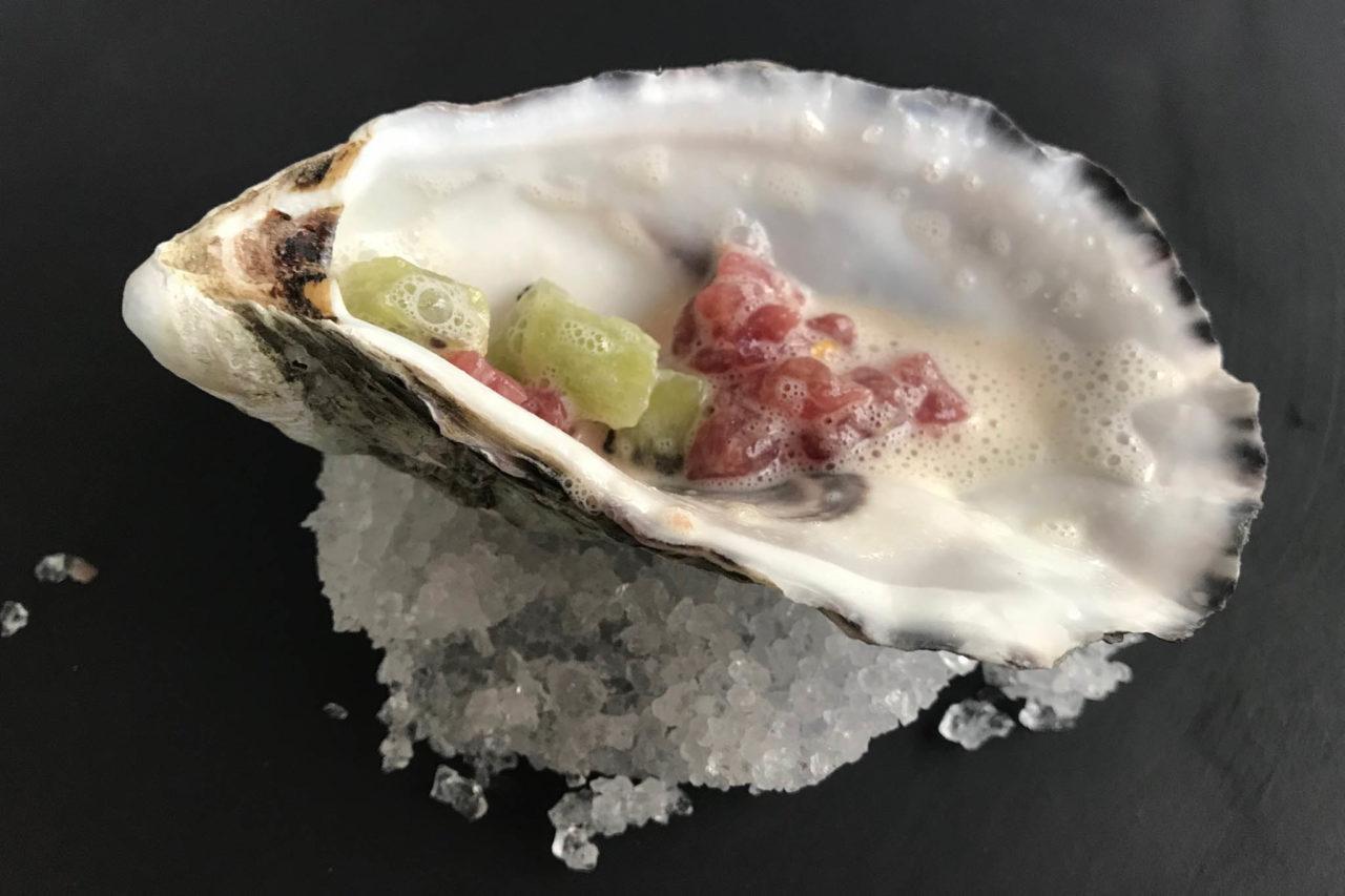 tartare tonno e ostrica