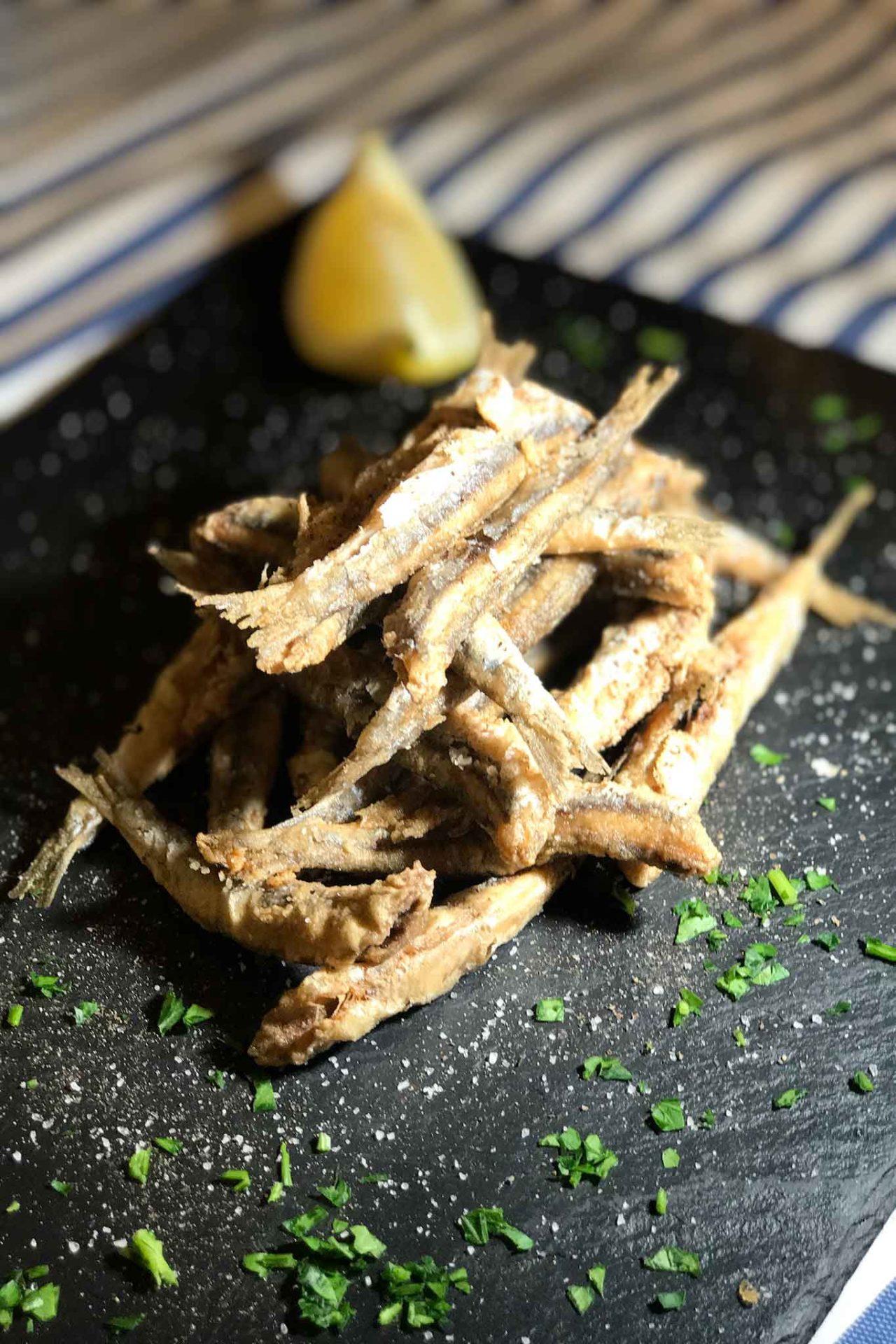alici fritte Acciaroli Cilento prezzo 10 euro