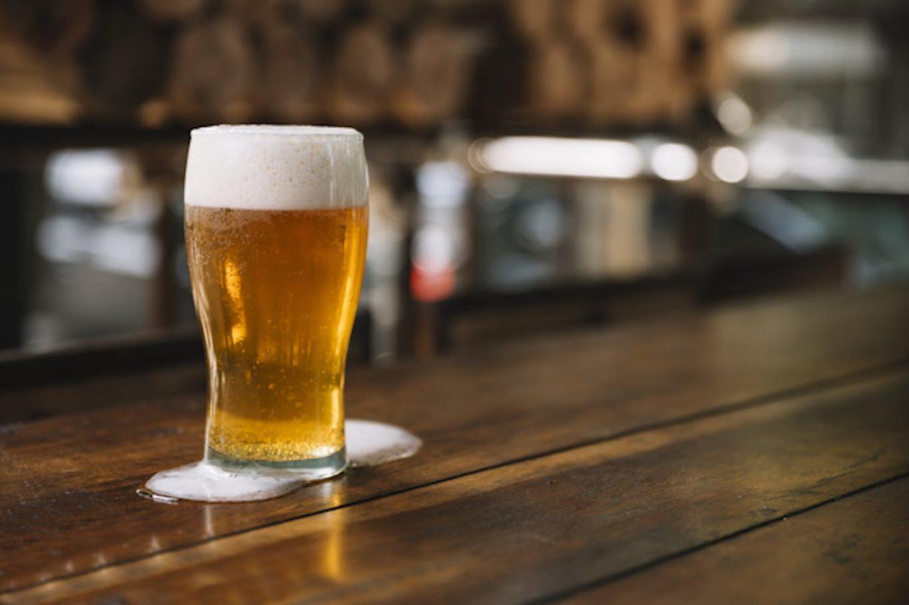 bicchieri birra sporchi