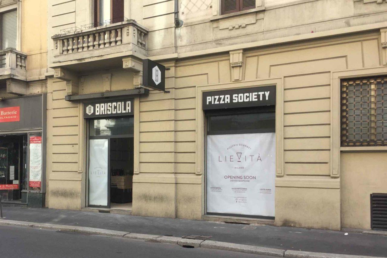 chiusure a Milano briscola lievita pier della francesca