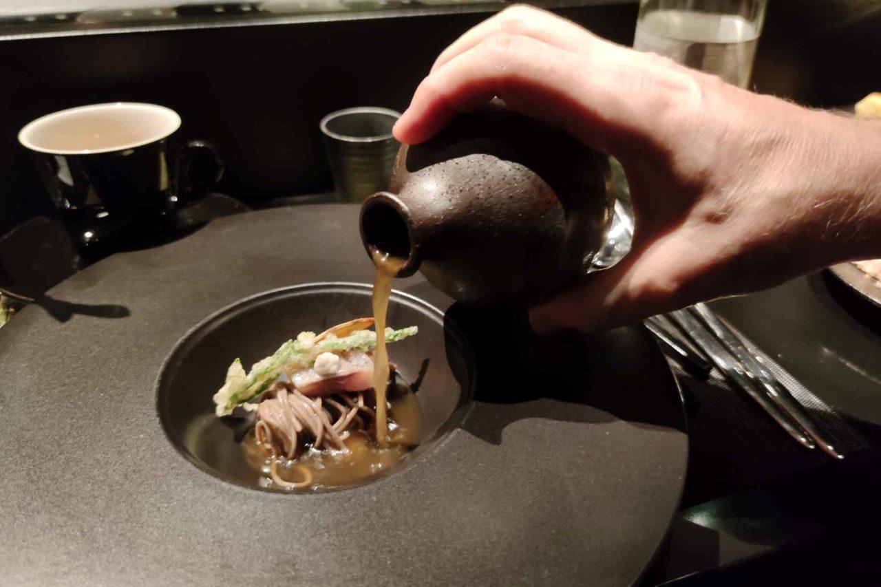 Uno dei piatti di Viglietti