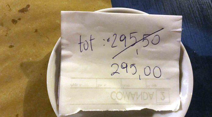 conto con sconto di 50 centesimi ristorante ligure