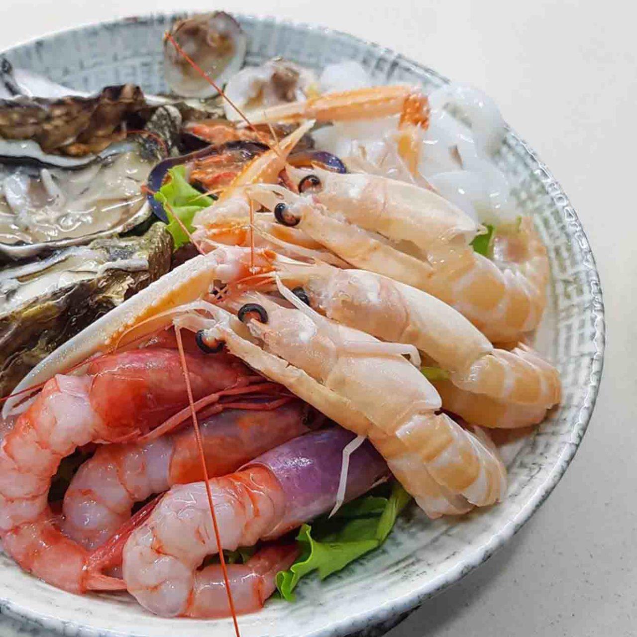 crudo di pesce ristoranti di mare