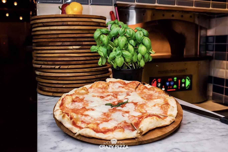 la pizza margherita di Flavio Briatore