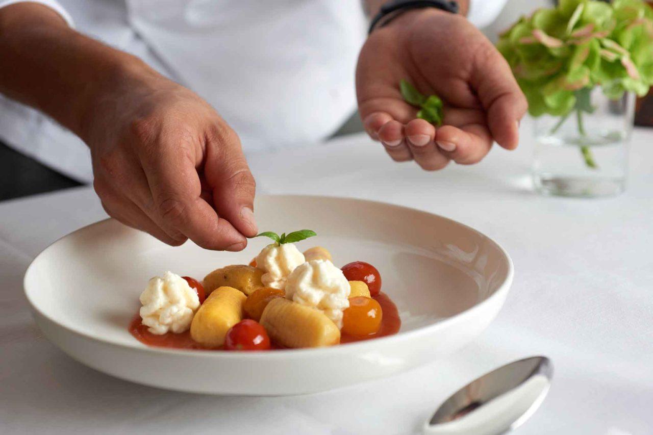 lomo ristorante asolo alberto ometto verdure