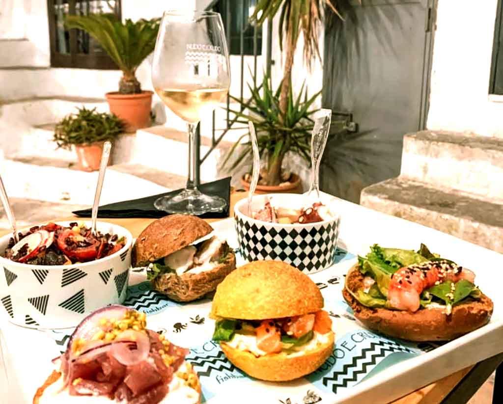 fast food di pesce dell'Adriatico