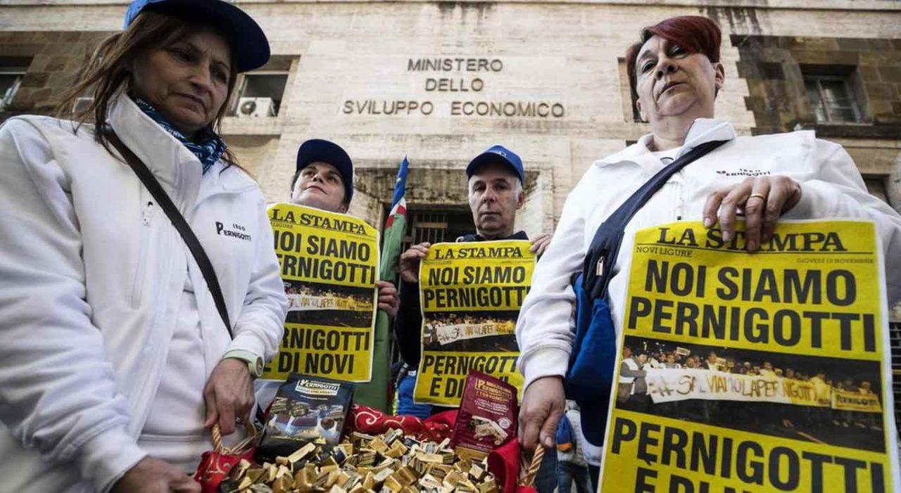 sciopero lavoratori pernigotti la stampa