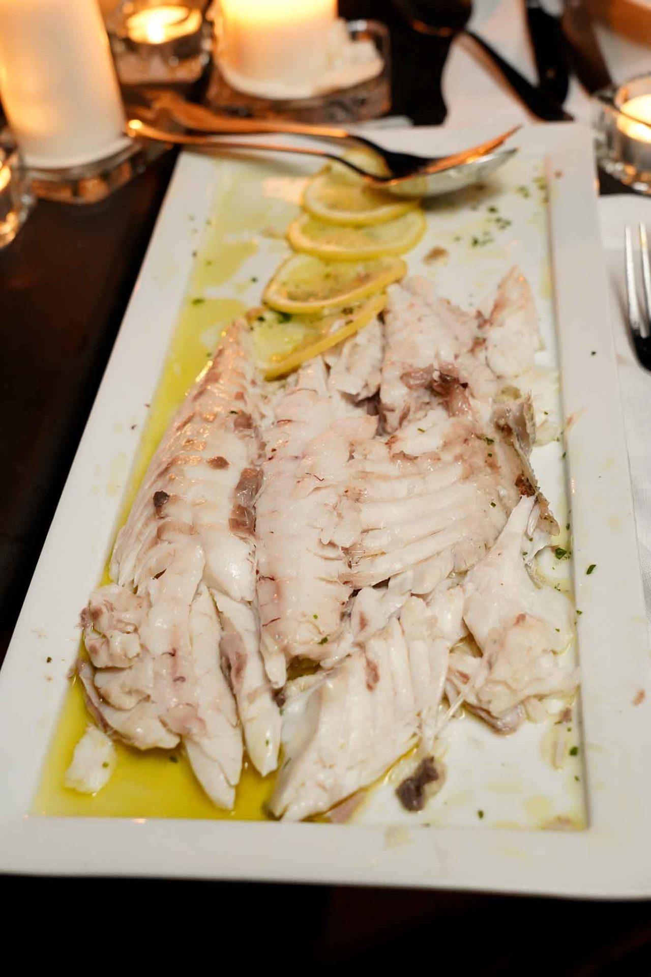 pesce pezzogna Locanda le Tre Sorelle Casal Velino di Franca Feola