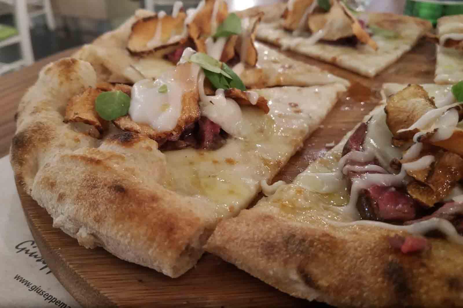 pizza con la carne Chateaubriand Daniele Gourmet Avellino