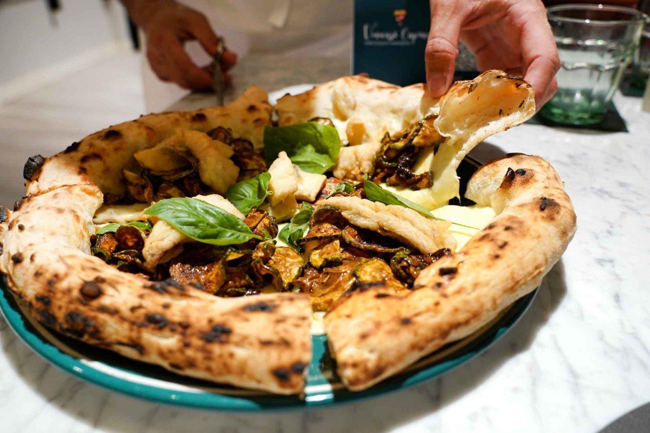 pizza puteolana pizzeria Vincenzo Capuano Pozzuoli Napoli