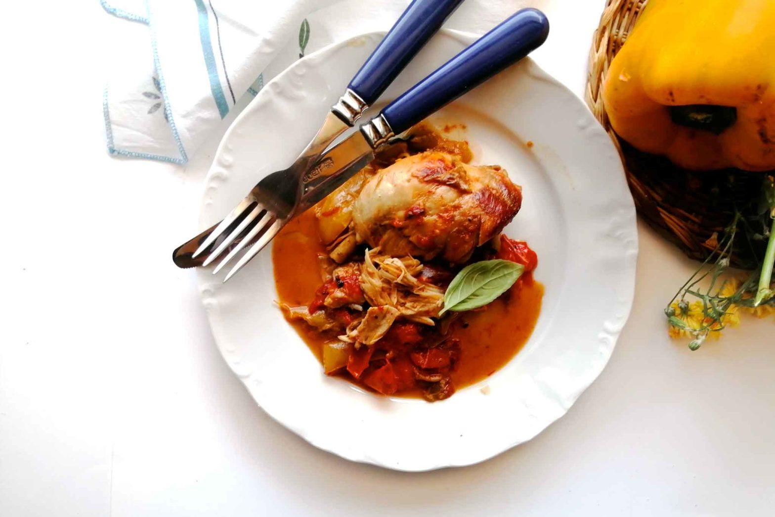 pollo e peperoni ricetta