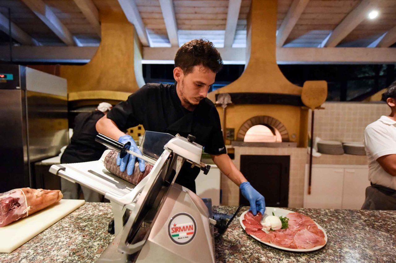 pizza Crazy Flavio Briatore prosciutto