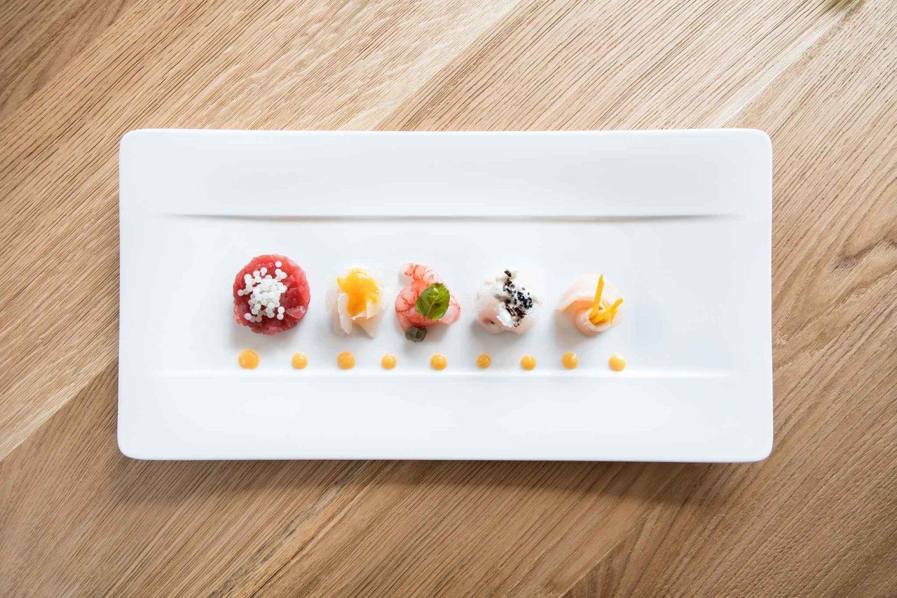 rinominare il crudo pesce Kisté easy gourmet Taormina
