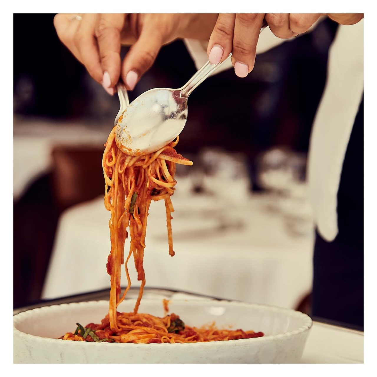 spaghetti ristorante Cipriani Montecarlo