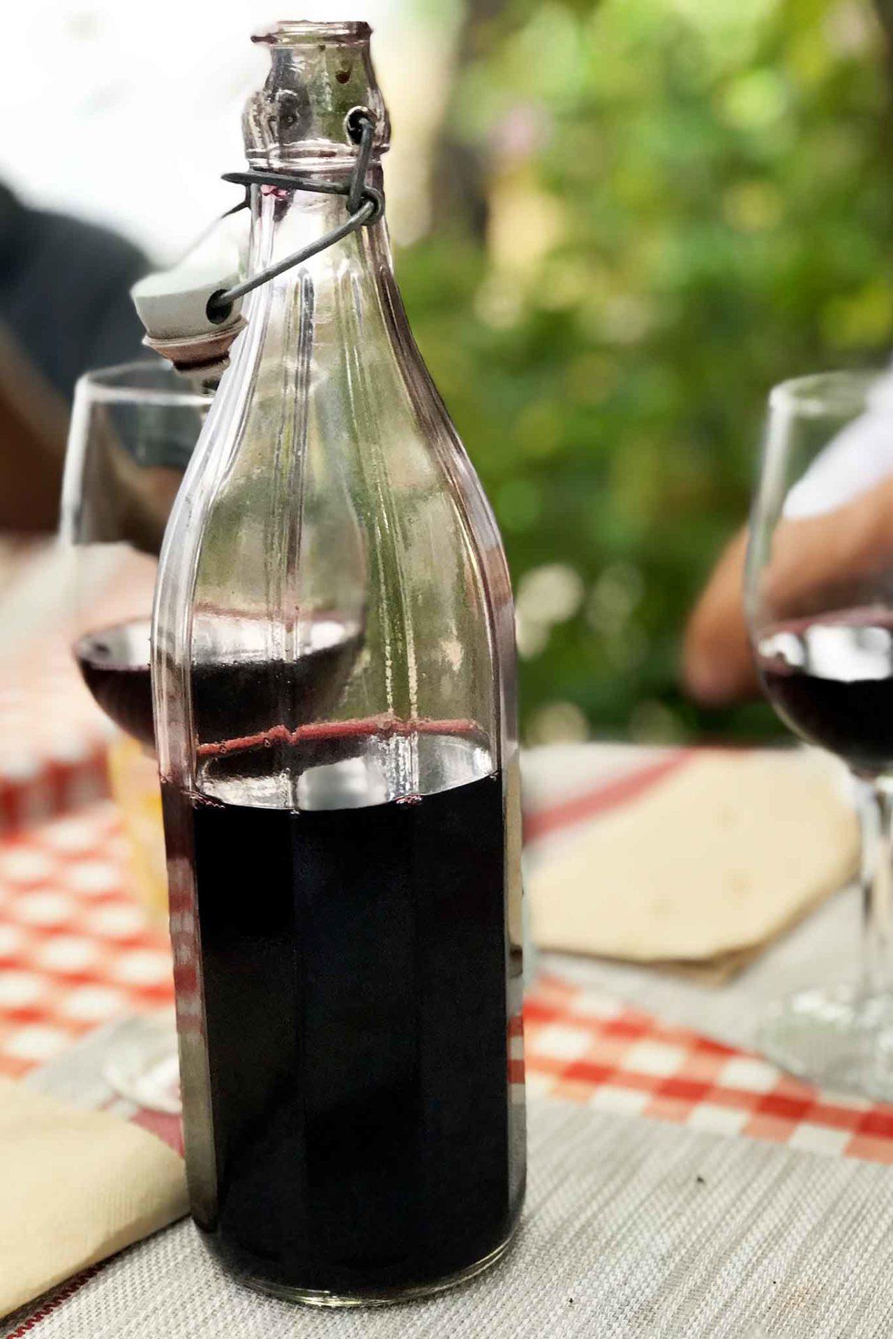 vino della casa Cantina Nicola Bianco Gioi Cilento