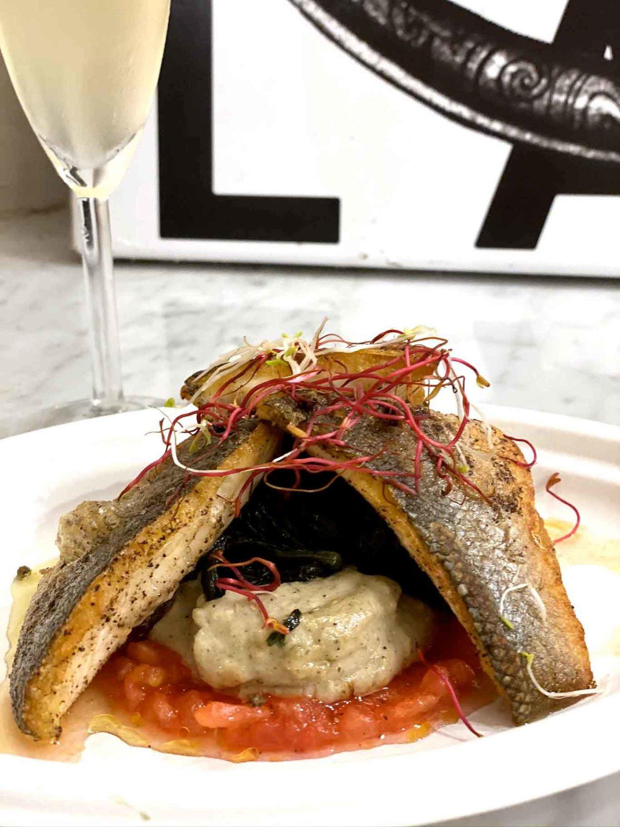Anguilla Food Trip Catania ristorante di pesce trancio