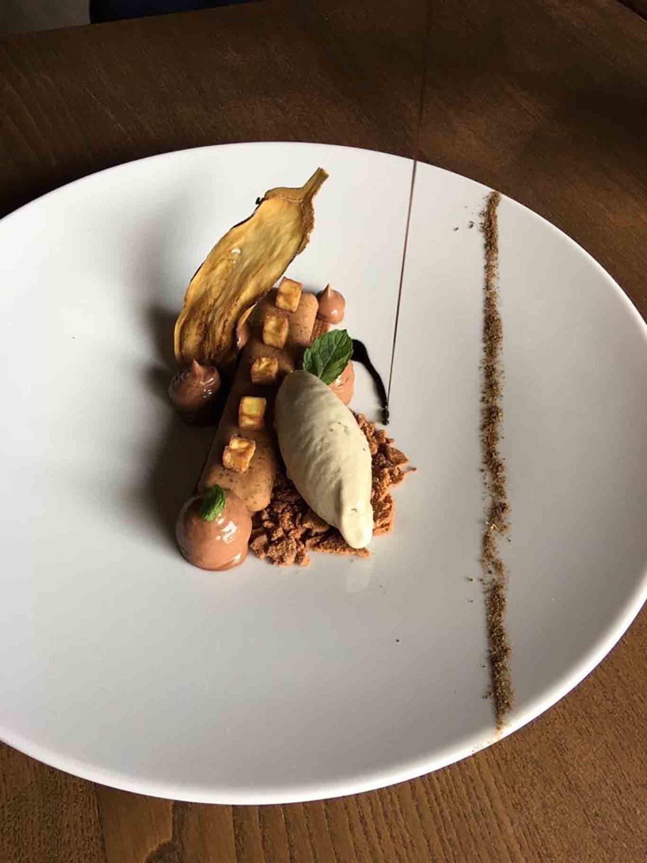 Casa Federici ristorante Montoro Avellino melanzana al cioccolato