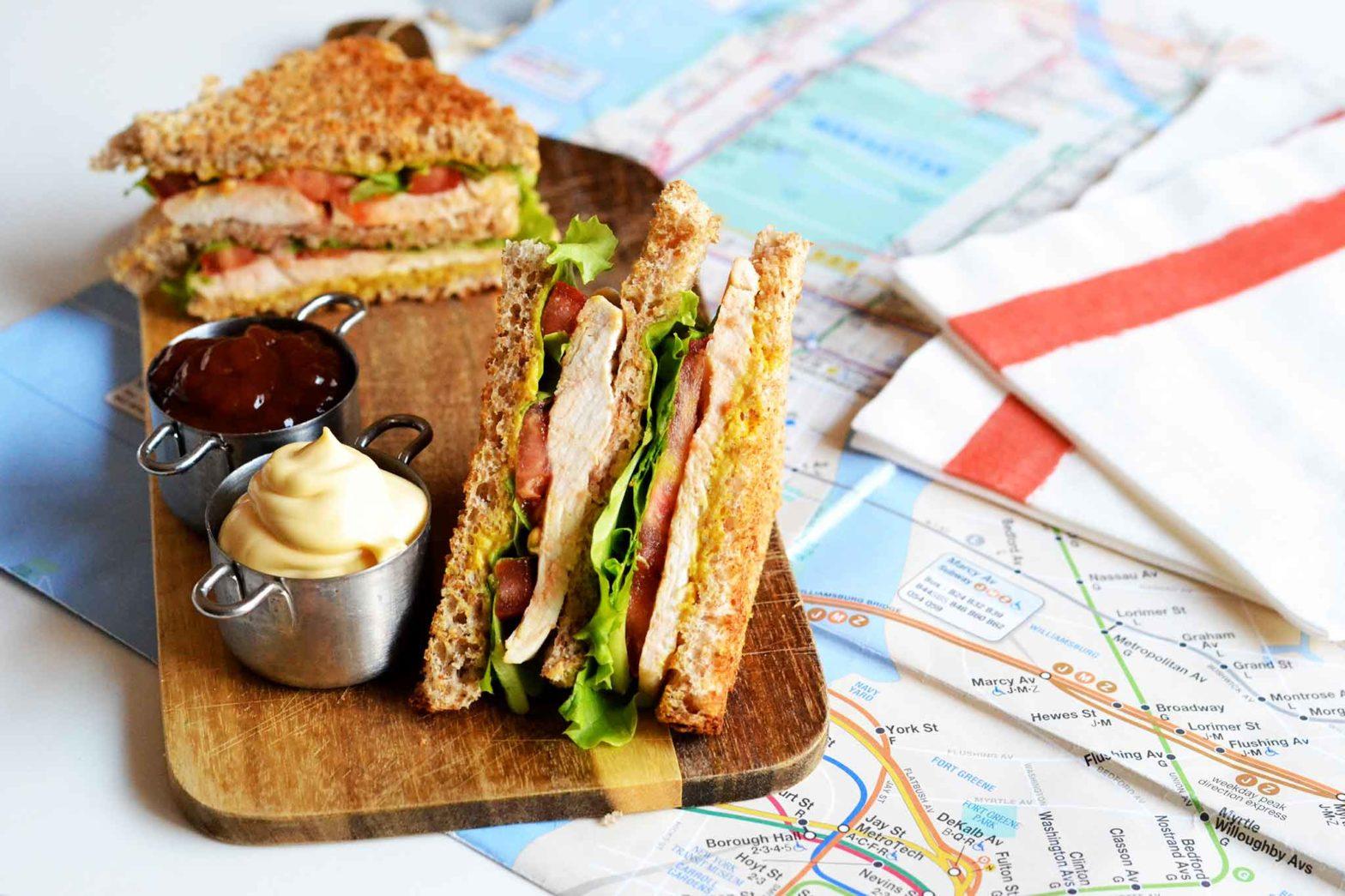 Club Sandwich ricetta leggera