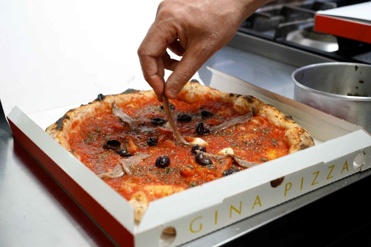 Gina Pizza alici